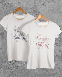 """CHOOSE HAPPINESS BY SMILING"" TEE'S FOR MEN AND WOMEN - down-south-apparel-za"