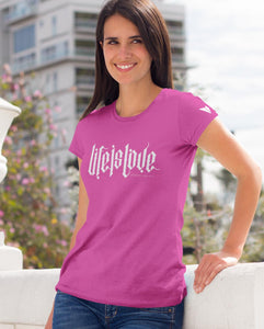 """LIFE IS LOVE"" PRO-LIFE TEE'S FOR MEN AND WOMEN - down-south-apparel-za"