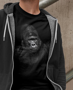 BEASTS ON BLACK \ GORILLA - down-south-apparel-za