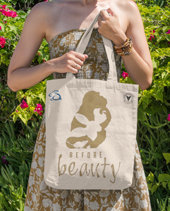 """ANIMALS BEFORE BEAUTY"" TOTE BAG \ BEAUTY WITHOUT CRUELTY - down-south-apparel-za"