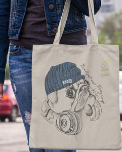 MUSIC PUG TOTE BAG \ ARRO - down-south-apparel-za