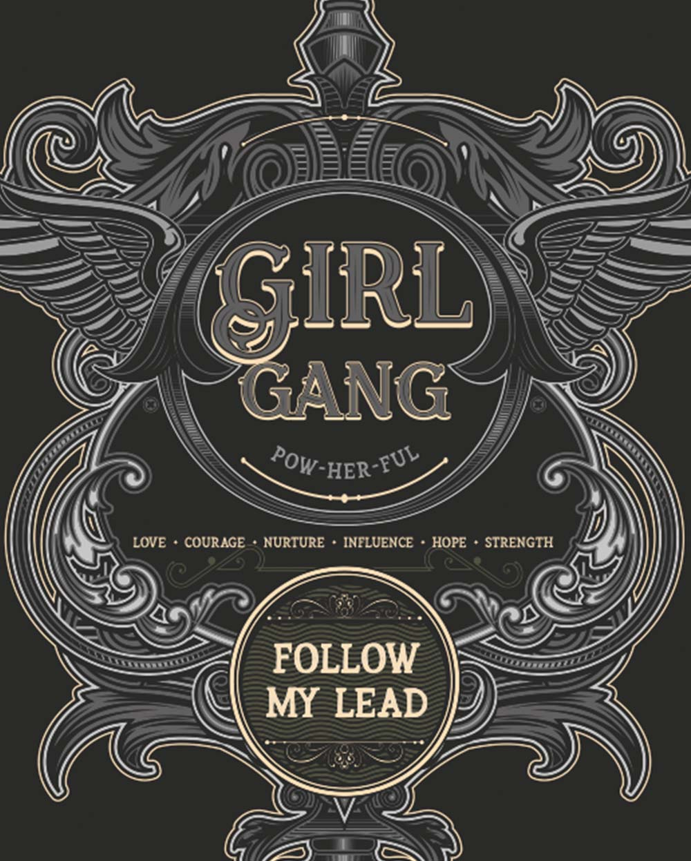 GIRL GANG \ WOMENS DAY 2019 - down-south-apparel-za