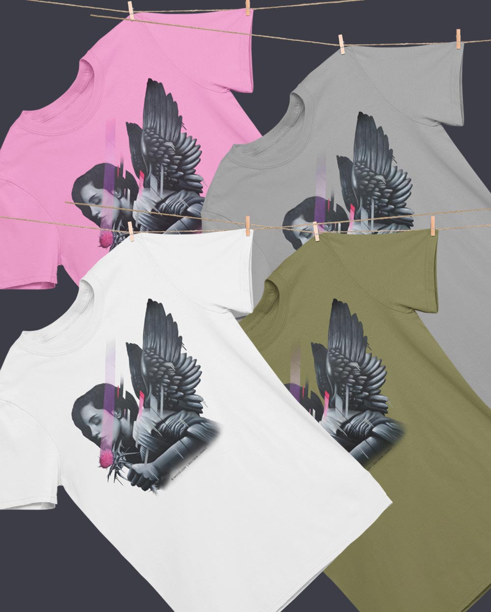 THISTLE ANGEL \ MISTER COPY - down-south-apparel-za