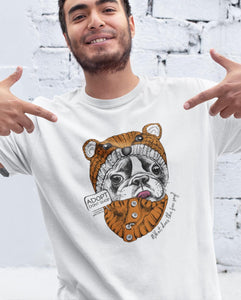 FOX FRENCHIE TEE \ ARRO - down-south-apparel-za