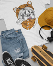 Load image into Gallery viewer, FOX FRENCHIE TEE \ ARRO - down-south-apparel-za