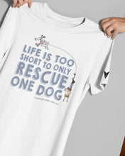 "Load image into Gallery viewer, ""LIFE'S TOO SHORT"" TEE \ ARRO - down-south-apparel-za"