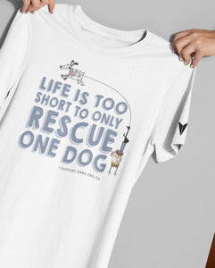"""LIFE'S TOO SHORT"" TEE \ ARRO - down-south-apparel-za"