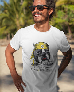 PIRATE FRENCHIE TEE \ ARRO - down-south-apparel-za