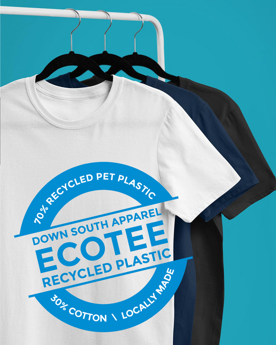 CUSTOM PRINT ECOTEE (UNISEX) incl full colour print/s - down-south-apparel-za