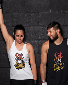 """SET NO LIMITS"" VESTS FOR MEN AND WOMEN - down-south-apparel-za"