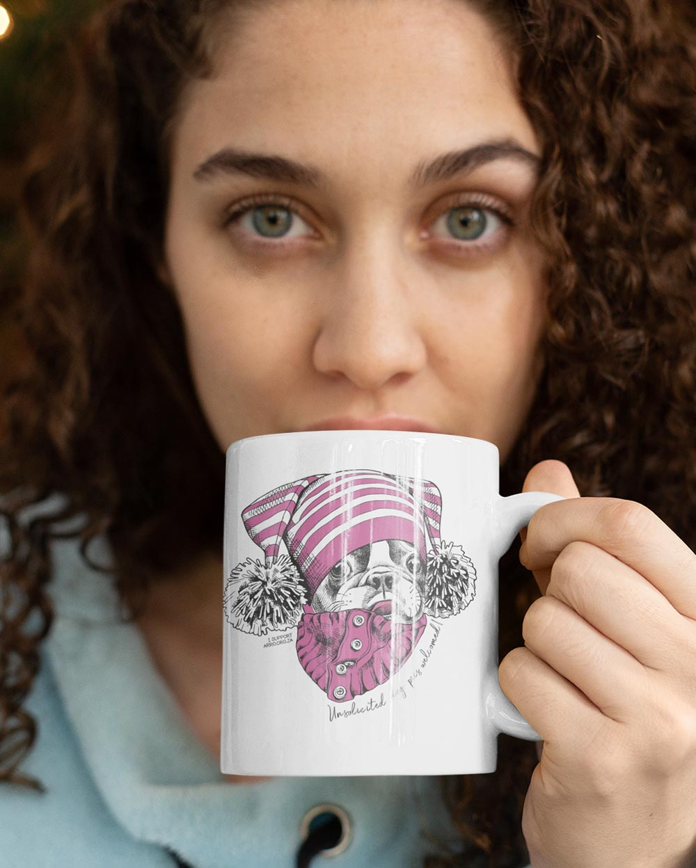 SELFIE FRENCHIE MUG \ ARRO - down-south-apparel-za
