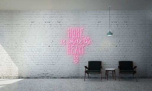 Home is where the heart is (with heart logo)