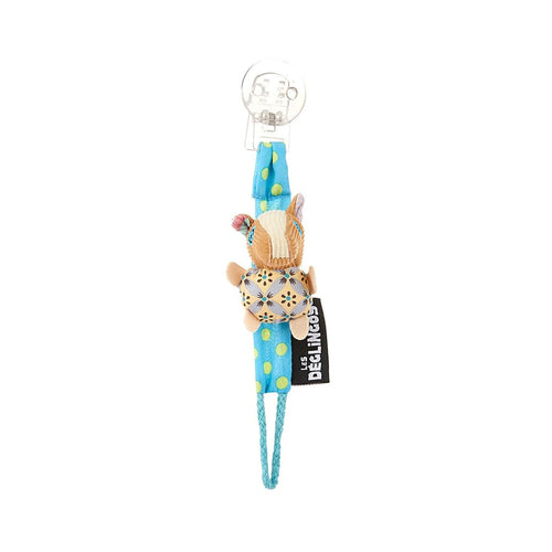 Character Pacifier Clip - Blue Horse