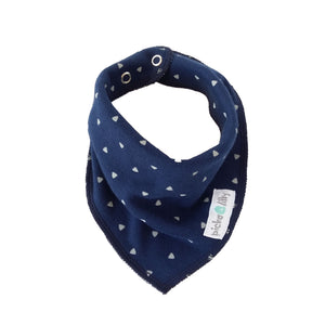 Bandana Dribble Bibs - Navy Blue