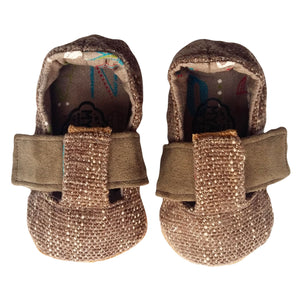 Stylish Baby Shoes - Tweed