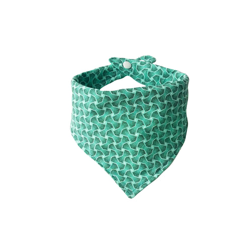 Dribble Bib - ShweShwe Mint