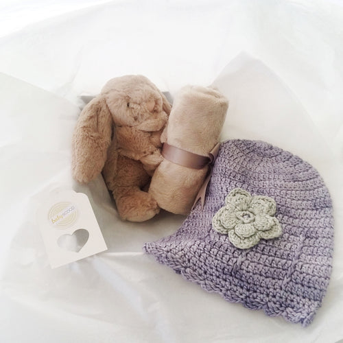 Cuddle Comfort Baby Gift Set - Bashful Bunny Soother