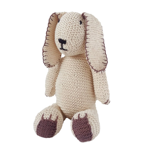 Soft Toy - Crochet Teddy Bear with brown