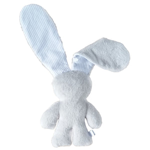 Soothing Snuggle Bunny - Grey with Striped Ears