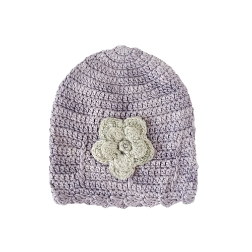 Beanie - 100% Cotton & Bamboo (Purple)