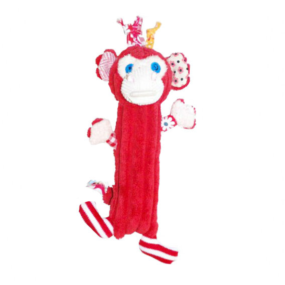 Baby Squeaker - Red Monkey