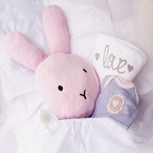 Cuddle Comfort Baby Girl Gift Set - Pink Soft Bunny Love