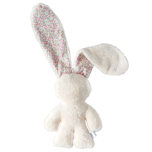 Soothing Snuggle Bunny - Cream with Floral Ears