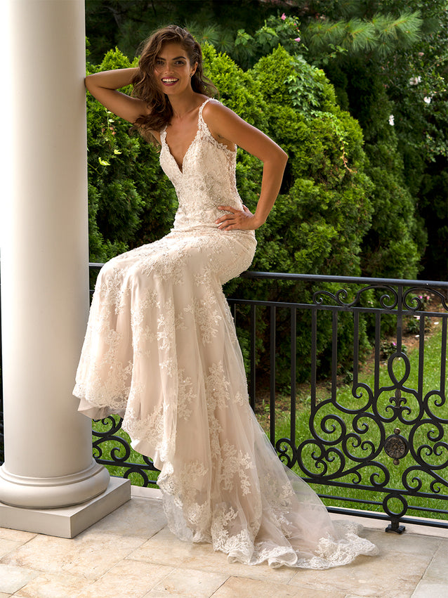 Milady Fit and Flare Wedding Dress