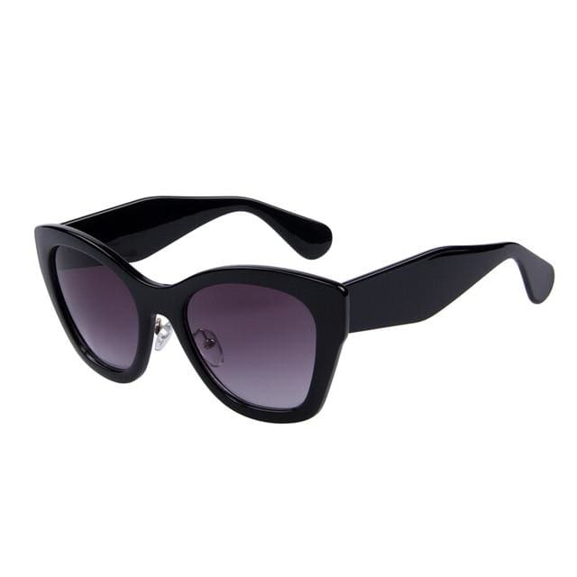 butterfly sunglasses in 5 colors - black - Sunglasses