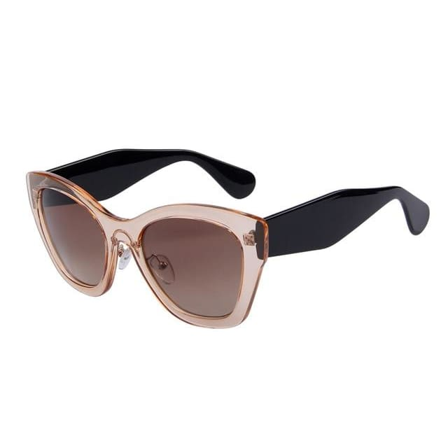 butterfly sunglasses in 5 colors - brown - Sunglasses