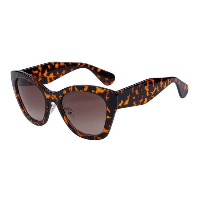 butterfly sunglasses in 5 colors - leopard - Sunglasses