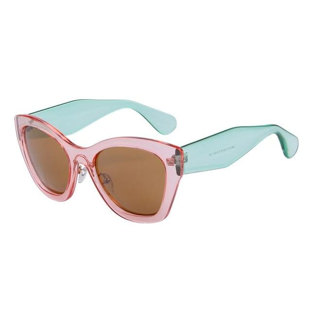 butterfly sunglasses in 5 colors - pink - Sunglasses