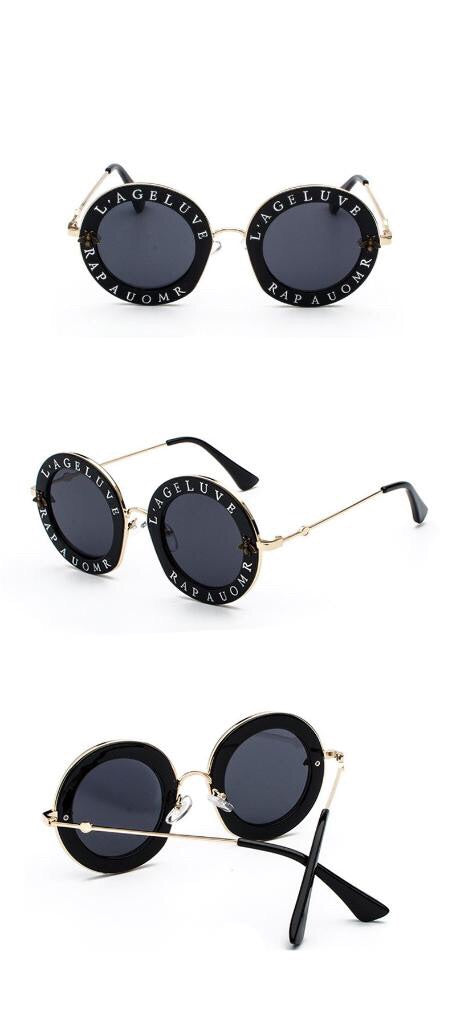 : round fashion sunglasses DON JUAN