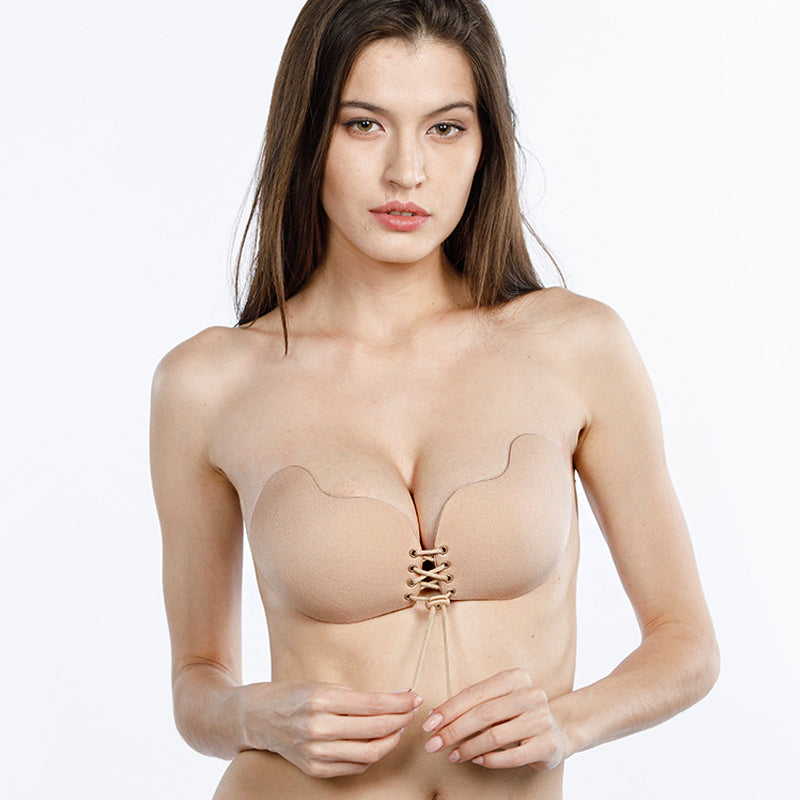 Push up bra: invisible strapless push up bra DON JUAN