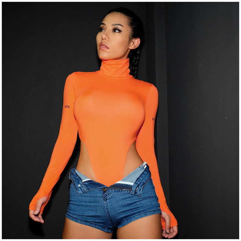 : super high waist skimpy cut bodysuit DON JUAN