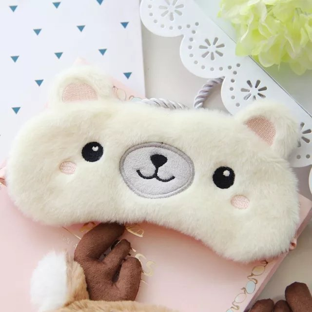 Sleep mask: cute plush eye sleep mask DON JUAN