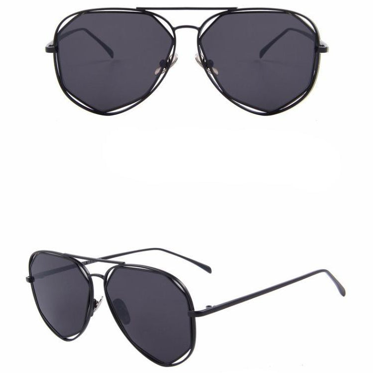 : angled high key aviator sunglasses DON JUAN