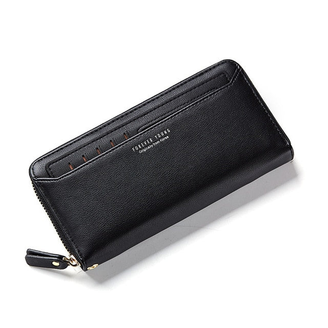 W Bags: zip around ladies' wallet with cardholder DON JUAN