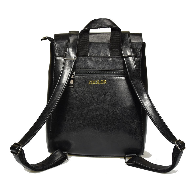 W Bags:solid backpack:VENERA CLUB