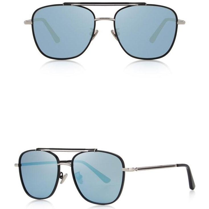 : brow bar detail aviator sunglasses DON JUAN