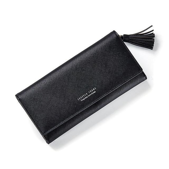 : ladies' wallet with tassel DON JUAN