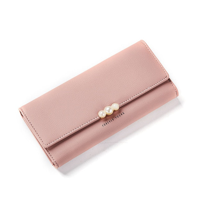 W Bags: ladies' wallet with pearl detail DON JUAN