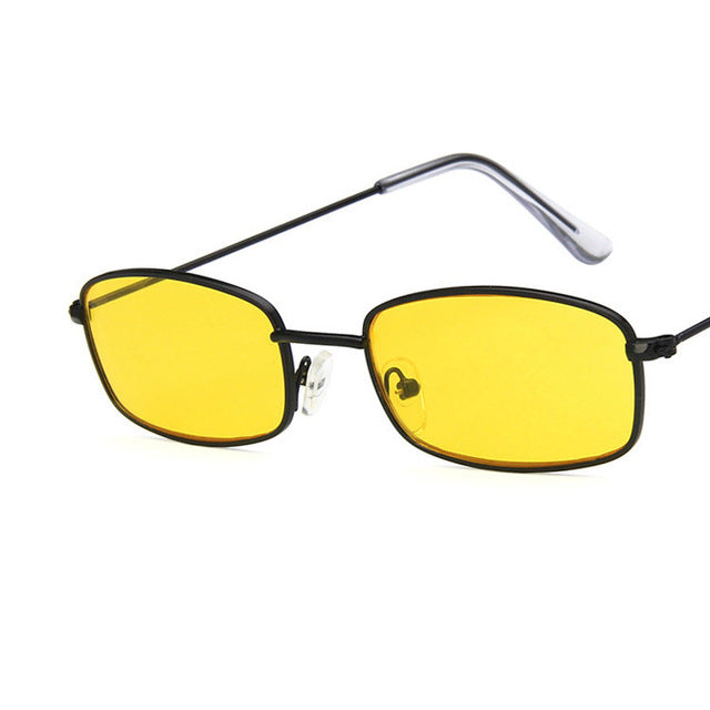 slim square sunglasses