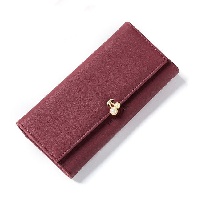 W Bags:ladies' wallet with pearl element:VENERA CLUB