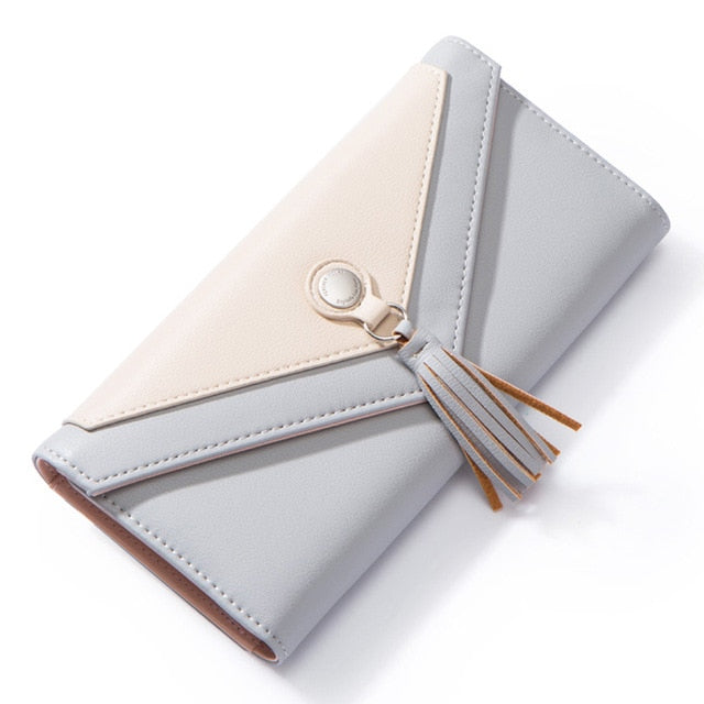 : envelope wallet with tassel detail DON JUAN