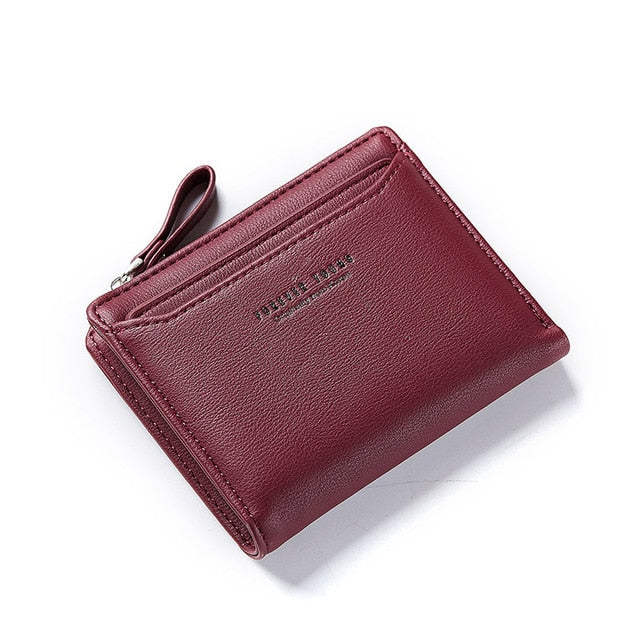 W Bags: leather coin ladies' wallet with tassel DON JUAN