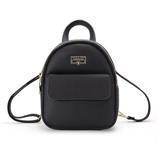 W Bags: mini backpack with front pocket DON JUAN