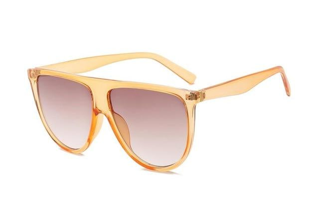 : flat brow oversize sunglasses DON JUAN