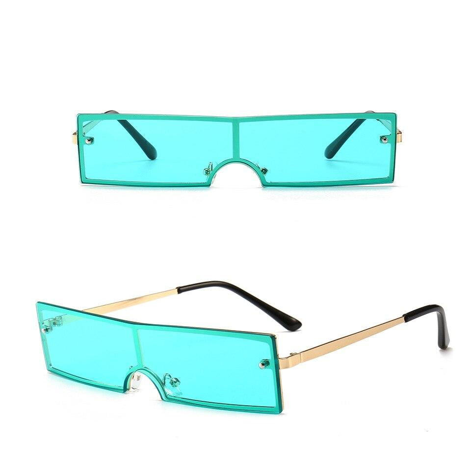 slim rectangular sunglasses