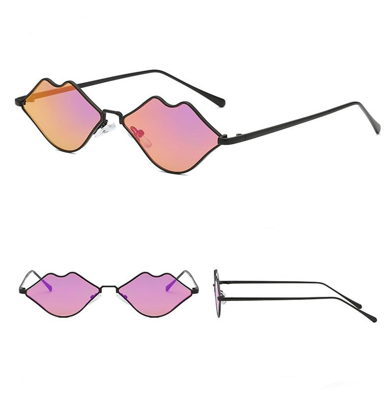 : love lip shape kiss sunglasses DON JUAN